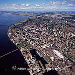 Dundee, the fourth-largest city in Scotland, on the north bank of the River Tay's estuary, Lowlands, Scotland
